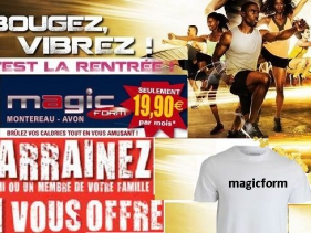 photo de votre salle de sport Magic Form Avon
